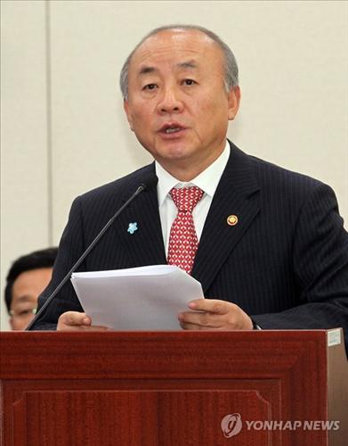 South Korean Unification Minister Yu Woo-ik