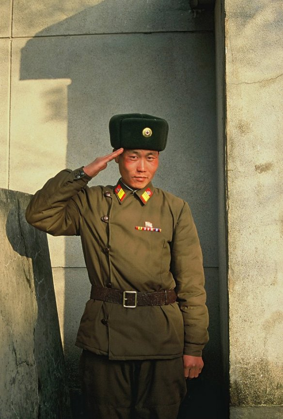 This soldier saluted me during a stay at the 38th parallel (DMZ) very near the border between North and South Korea. The fateful separation of the country and its history is palpable here. One can hope that one day the Korean people will meet again and that the whole country will be reunified under the right circumstances.