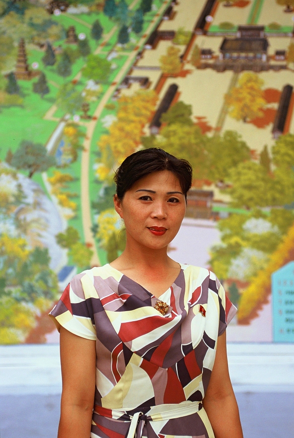 This great portrait of a local leader in was taken in Kaesong. Many people in the DPRK are not as shy and indifferent as is often shown in the media.