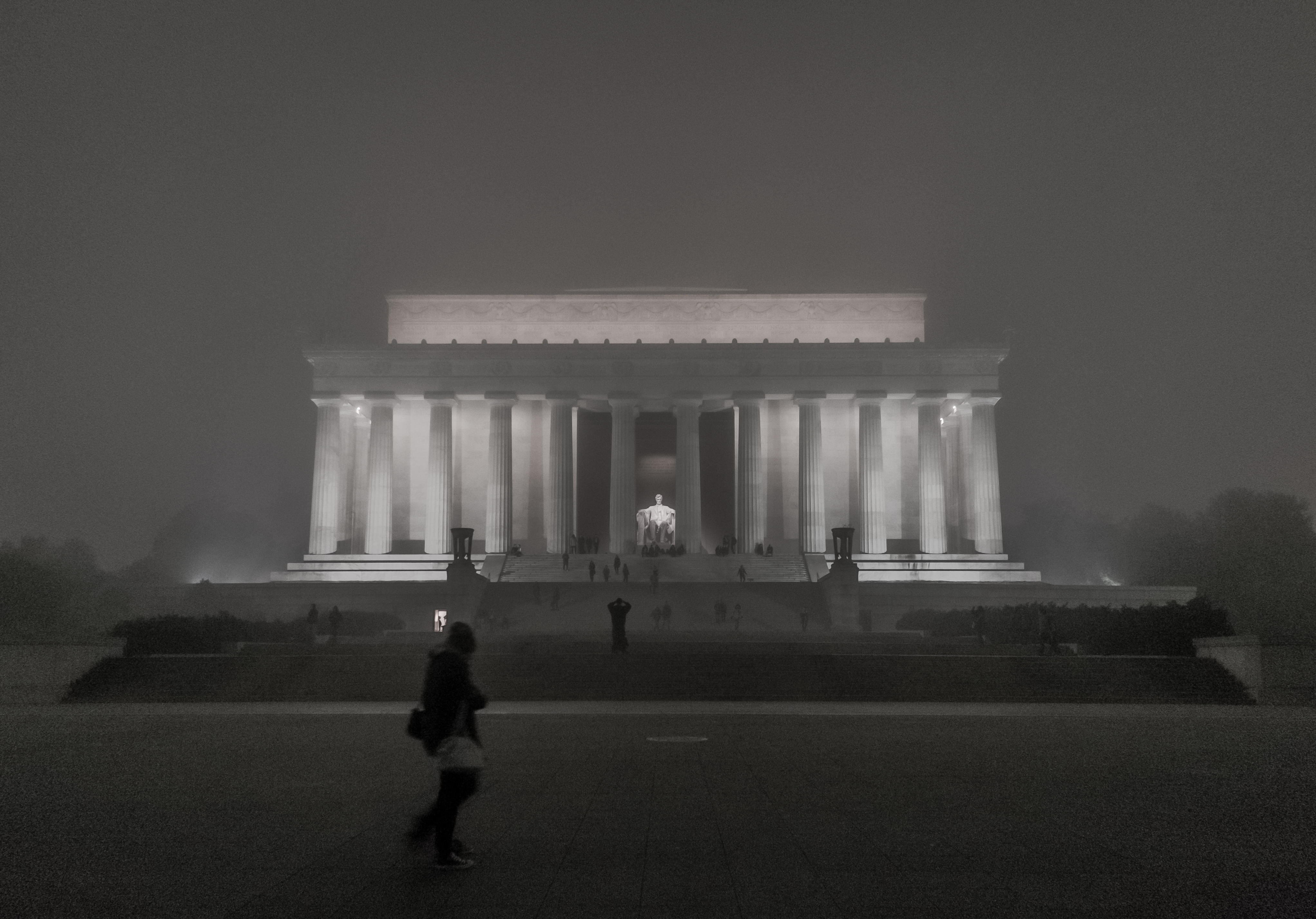 February 2013 Mou Onekorea Circuit Board Birthday Cake Flickr Photo Sharing The Lincoln Memorial On A Foggy Evening January 12 Credit Ehpien