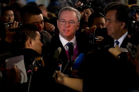 Eric Schmidt, Bill Richards